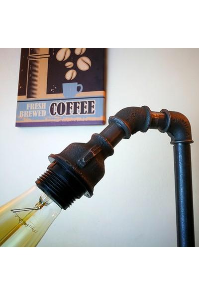 Dekorle Üç Ayaklı ve Vanalı Model Masa Lambası - DL01130