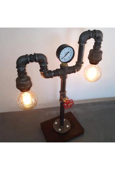 Dekorle Elektrik Dansı Modeli Masa Lambası - DL01158