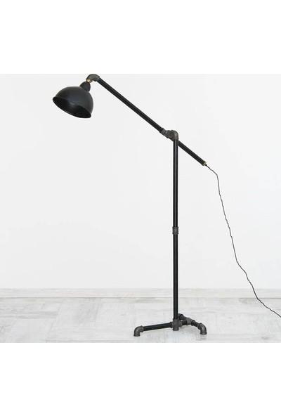 Dekorle Mikrofon Modeli Şapkalı Lambader - DLLD01123