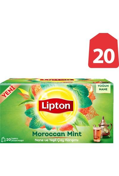 Lipton Bardak Poşet Çay Maroccan Mınt Nane & Yeşil Çay 20'Li