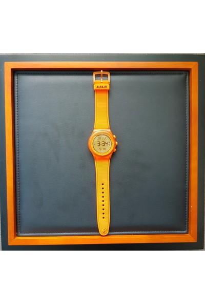 Alfajr Wy-16_Orange Unisex Kol Saati