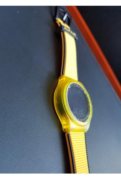 Alfajr Wy-16_Yellowblack Unisex Kol Saati