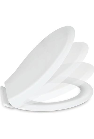 Nkp Smart Soft Close Yavaş Kapanan Amortisörlü Klozet Kapağı