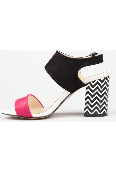 Sms Kadın Topuklu Sandalet