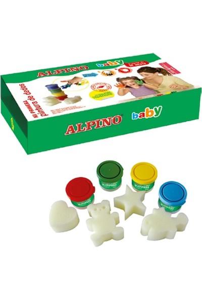 Alpino Baby Parmak Boyası 4 Renk x 40 ml