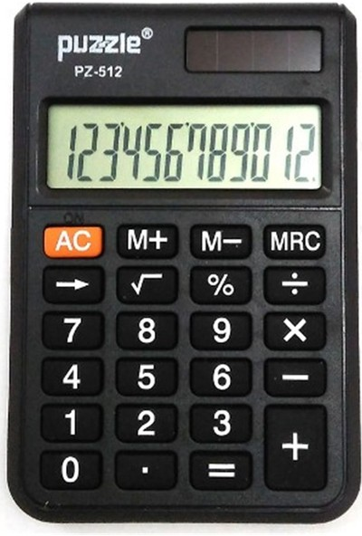 Puzzle Mini Boy Hesap Makinesi PZ 512