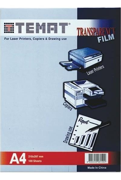 Temat Fotokopi Asetati A4 100 Micron 100 lü Paket