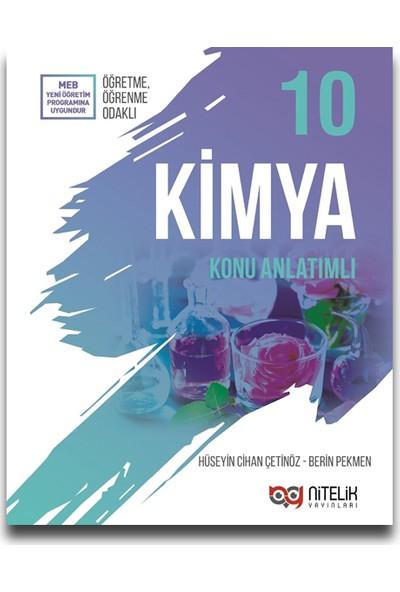 Nitelik Yayınları 10. Sınıf Kimya Konu Anlatımı - Hüseyin Cihan Çetinöz