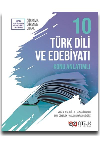 Nitelik 10. Sınıf Türk Dili ve Edebiyatı Konu Anlatımı - Mustafa Ceydilek