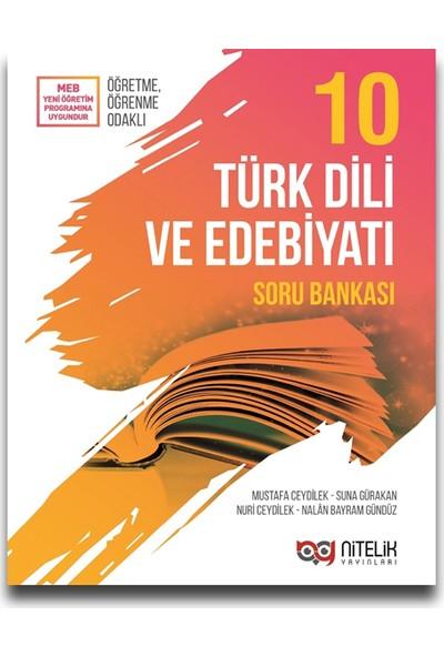 Nitelik Yayınları 10. Sınıf Türk Dili ve Edebiyatı Soru Bankası - Mustafa Ceydilek