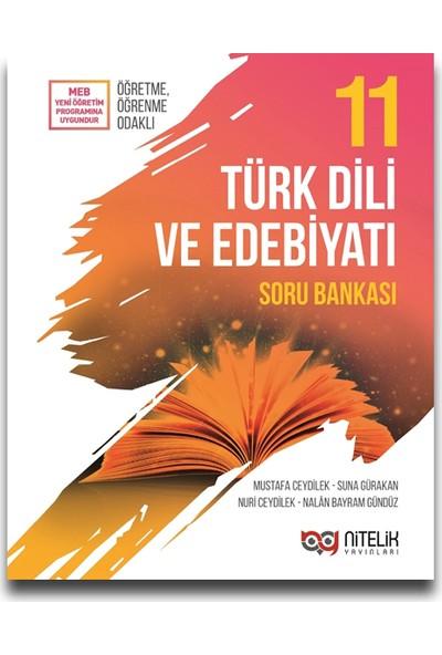 Nitelik Yayınları 11. Sınıf Türk Dili ve Edebiyatı Soru Bankası - Mustafa Ceydilek
