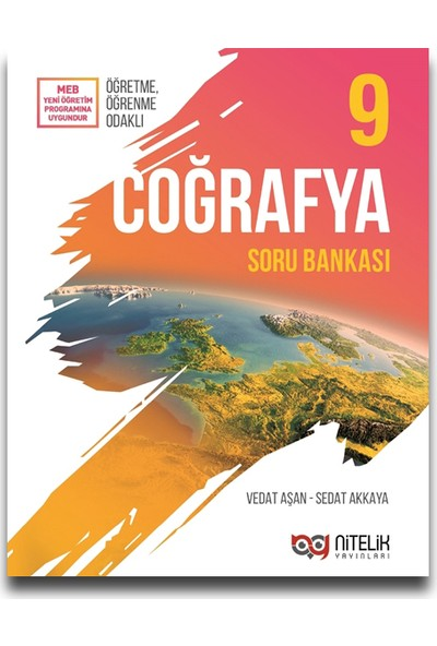 Nitelik Yayınları 9. Sınıf Coğrafya Soru Bankası - Vedat Aşan