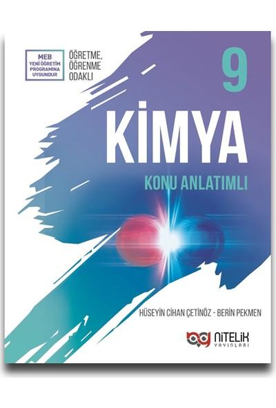 Nitelik Yayınları 9. Sınıf Kimya Konu Anlatımı - Hüseyin Cihan Çetinöz