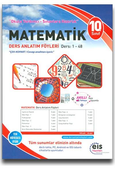 Eis 10. Sınıf Matematik Ders Anlatım Föyleri (1-48)