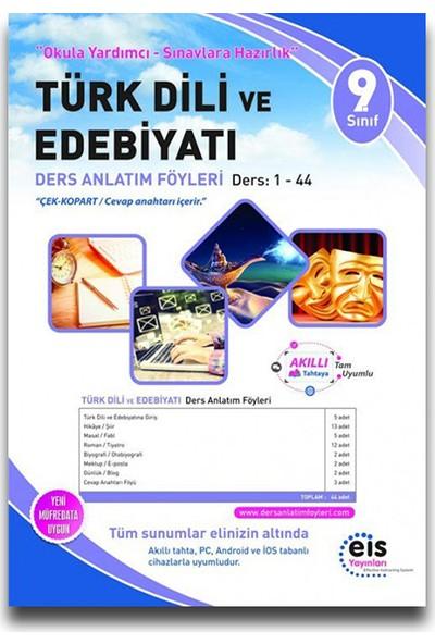 Eis 9. Sınıf Türk Dili Ve Edebiyatı Ders Anlatım Föyleri (1-44)