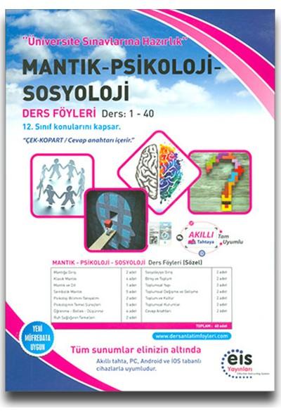 Eis Yks Mantık Psikoloji Sosyoloji Ders Föyleri (1-40)