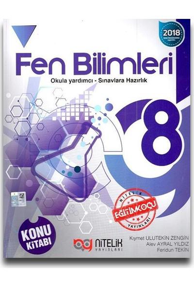 Nitelik 8. Sınıf Fen Bilimleri Konu Kitabı - Feridun Tekin