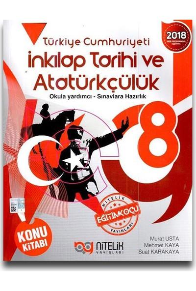 Nitelik 8. Sınıf T.C. İnkılap Tarihi ve Atatürkçülük Konu Kitabı