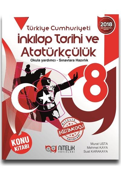 Nitelik Yayınları 8. Sınıf Fen Bilimleri Soru Kitabı - Murat Usta - Mehmet Kaya