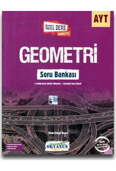 Okyanus AYT Geometri Soru Bankası (Özel Ders Konseptli)