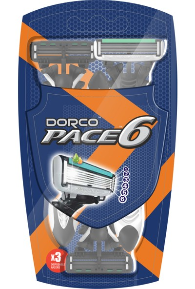 Dorco Pace 6 Bıçaklı Kullan At Tıraş Bıçağı