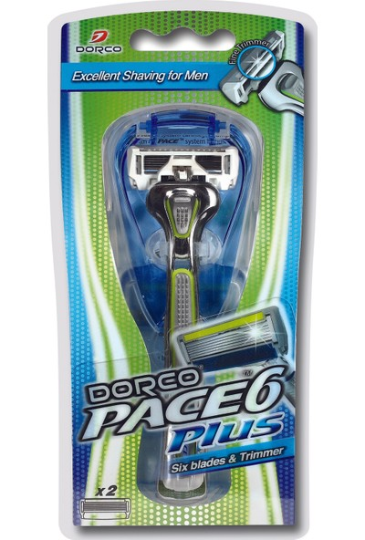 Dorco Pace 6 Plus Tıraş Makinesi