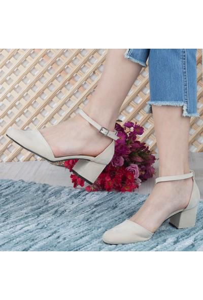 Simetri Kadın Topuklu Ayakkabı