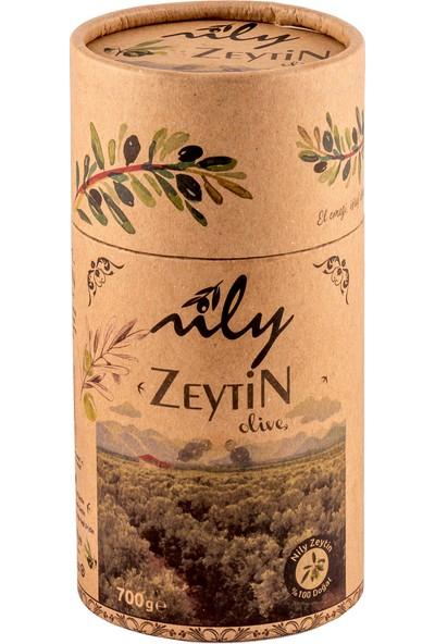 Nily Doğal Yeşil Kırma Zeytin 700 gr