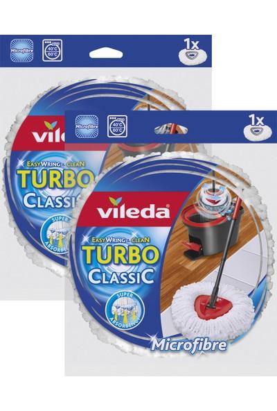Vileda Turbo Easy Wring & Clean Yedek Paspas x 2 Adet