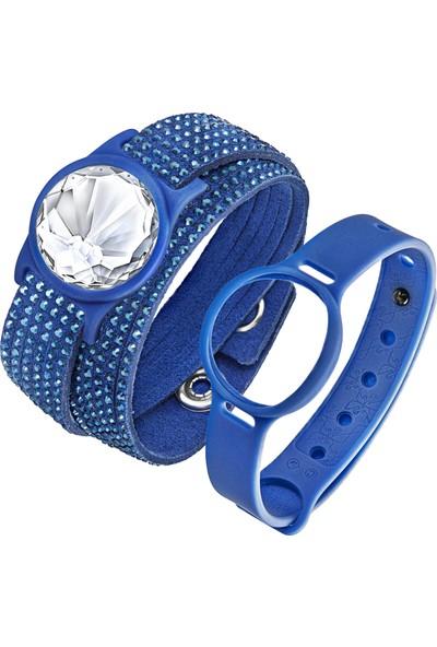 Swarovski Bilezik Slake Activity Crystal Set Crystla Blue L2 36/25 Cm 5228885