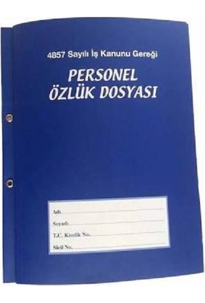 Alemdar Personel Özlük Dosyası 25'Li Paket