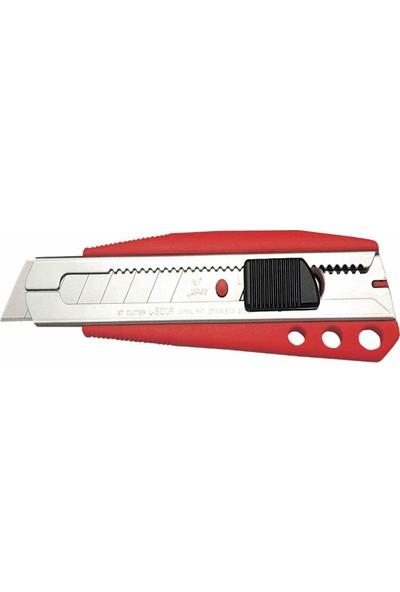 Nt Cutter Maket Bıçağı Geniş Otomatik Kilitli L-500Rp