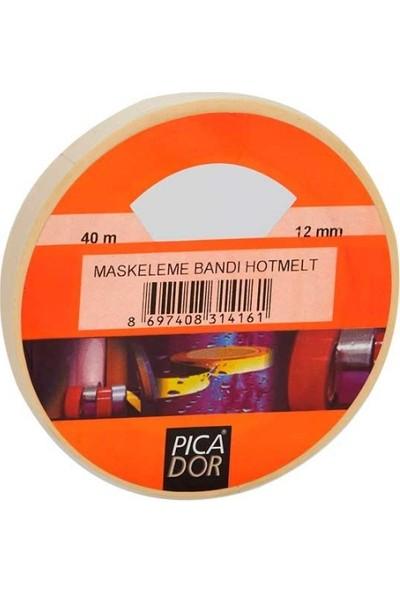 Picador Maskeleme Bandı 12Mmx40Mt 3 Lü Paket