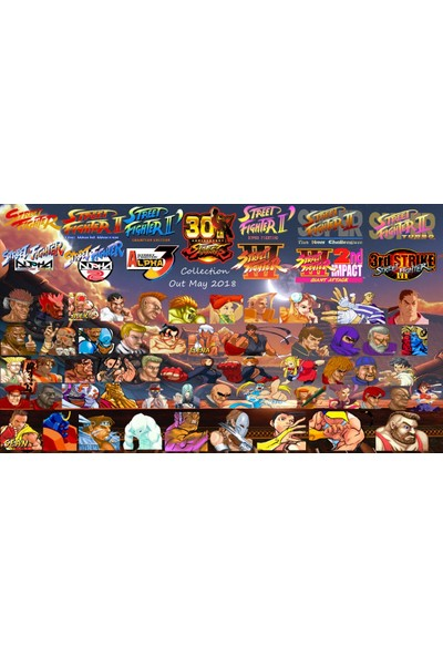 Capcom Street Fighter 30th Anniversary Collection Xbox One OYUN