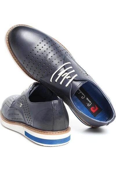 Pierre Cardin Erkek Oxford Ayakkabı Lacivert P63115D