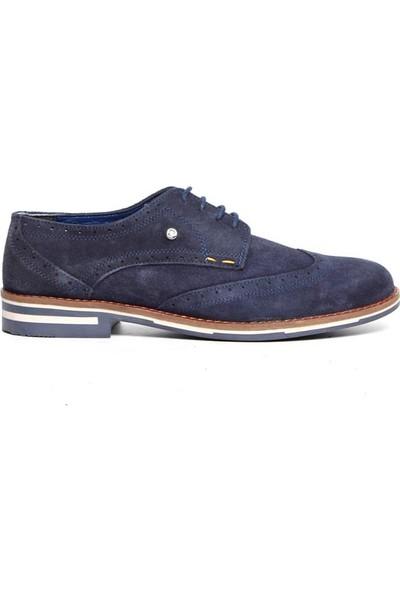 Pierre Cardin Erkek Oxford Ayakkabı Lacivert P3560D