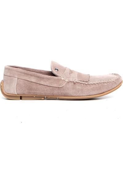 Pierre Cardin Erkek Loafer Ayakkabı Bej P8032F