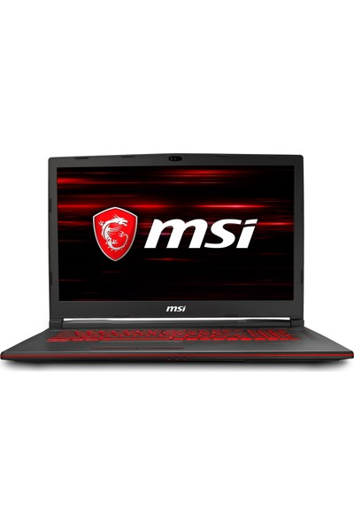 "MSI GL73 8RD-275TR Intel Core i7 8750H 8GB 1TB + 128GB SSD GTX1050Ti Windows 10 Home 17.3"" FHD Taşınabilir Bilgisayar"