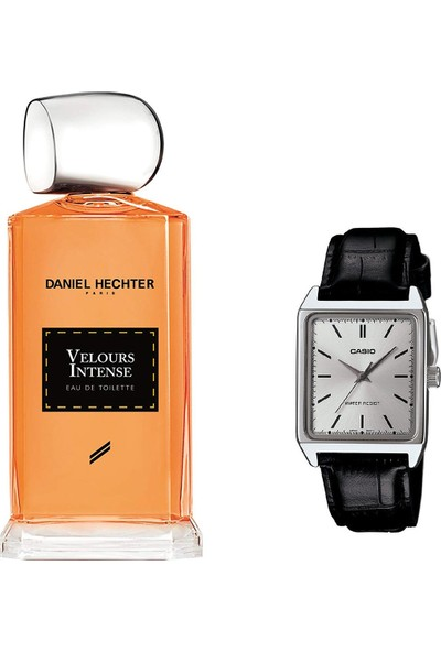 Daniel Hechter Collection Couture Velours Intense Homme Edt 100 ml Erkek Parfümü + Casio Mtp V007l 7e1udf Kol Saati