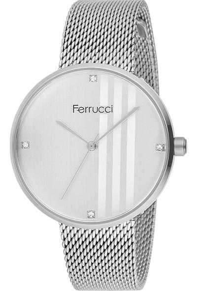 Ferrucci FC12261H.02 Hasır Kordonlu Kadın Kol Saati