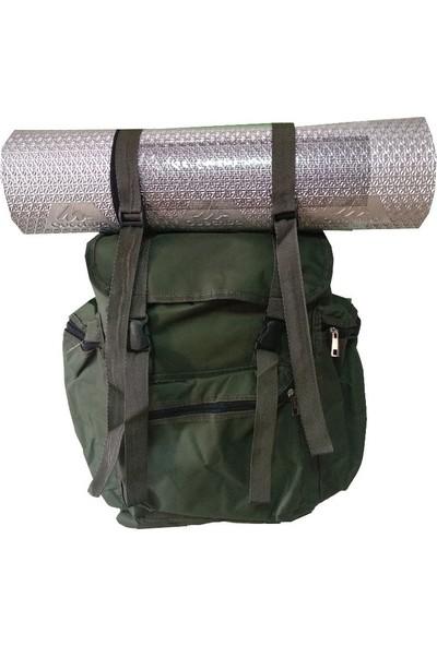 Bçs 50 Lt Outdoor Kamp Sırt Çantası Mat Taşıma Askılı