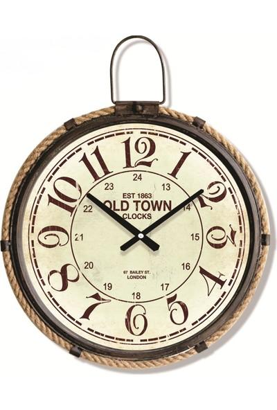 Time Gold Duvar Saati-50cm AK784