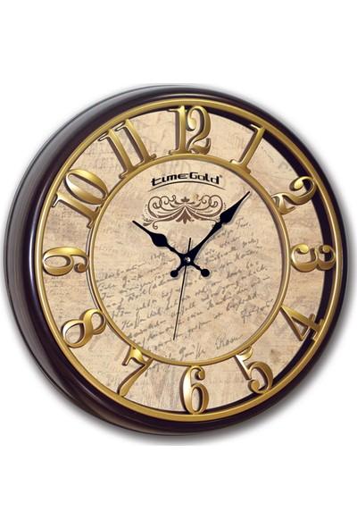 Time Gold Doğa Duvar Saati-40cm TG301EX6