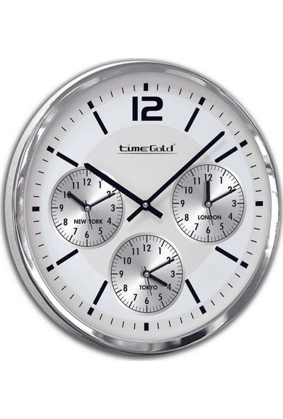 Time Gold 4'lü Dünya Saati-50cm TG318L