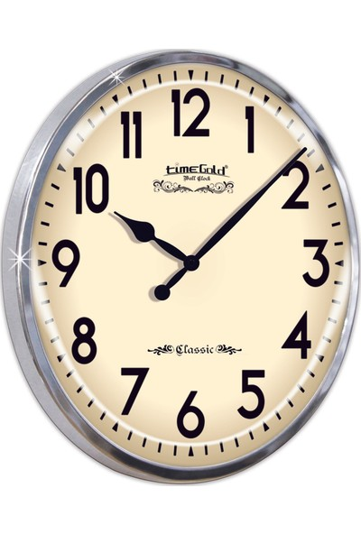 Time Gold Fora Duvar Saati-48cm TG317