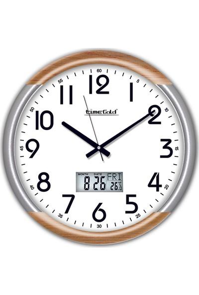 Time Gold Safir Duvar Saati-38cm TG205TR