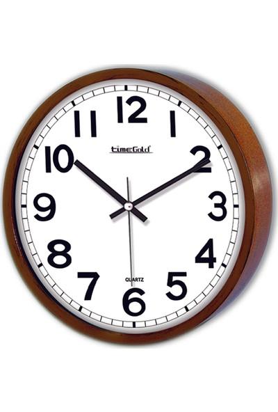 Time Gold Simela Duvar Saati-22cm TG148CEVİZ