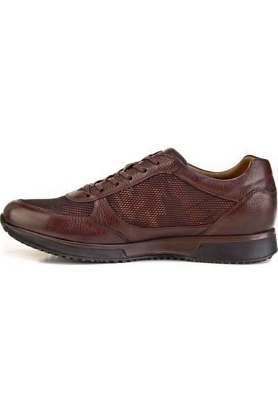 Cabani Bağcıklı - Erkek Ayakkabı Yeşil Nubuk
