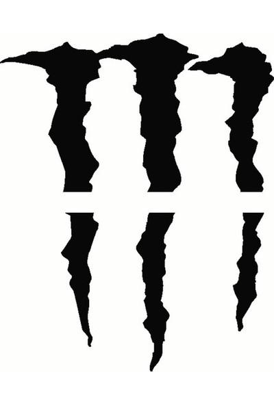 Areksan Monster Far Sticker 25 cm