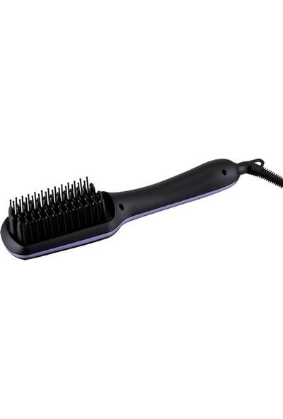 King K 903 Saç Düzleştirici Fırça Saç Şekillendirici